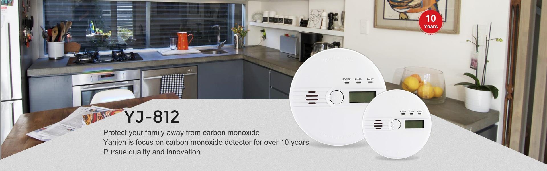Carbon Monoxide Detector-YJ-812