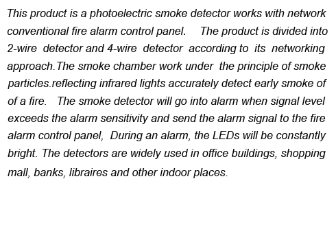 Smoke Detector YJ-152L-2/4